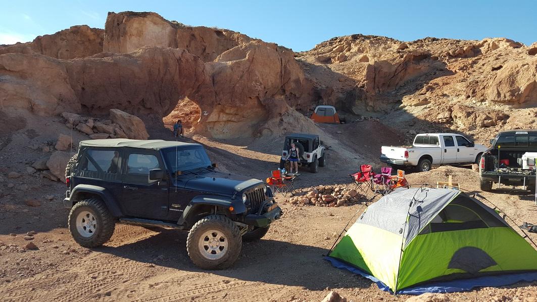 Camping: Doran Canyon