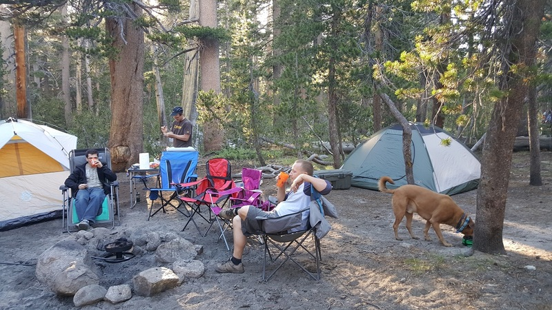 Camping: Gold Fever Trail