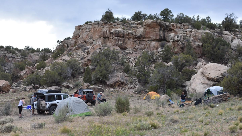 Camping: Rimrocker