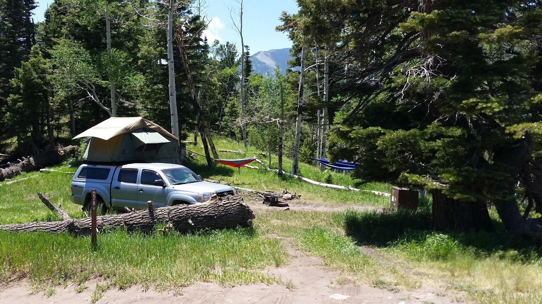 Camping: Medano Pass