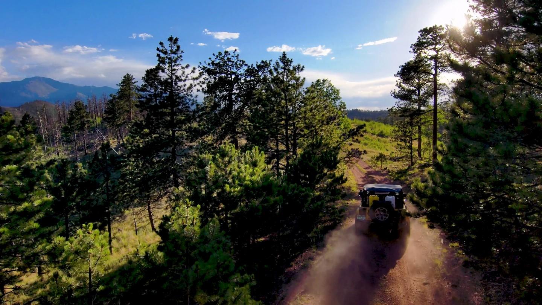 Highlight: Ormes Peak Road
