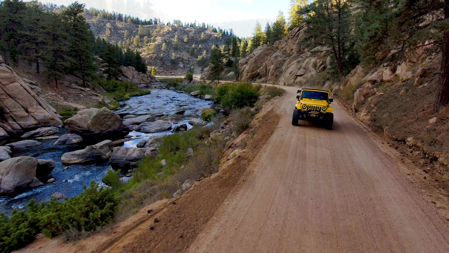 Highlight: Elevenmile Canyon Road