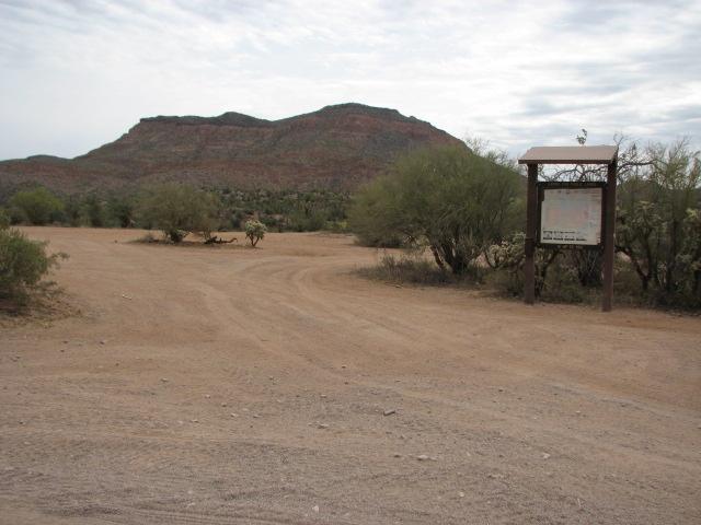Camping: Box Canyon - Florence, Arizona
