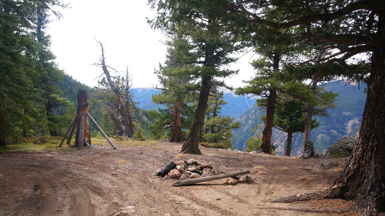 Camping: Saxon Mountain Road