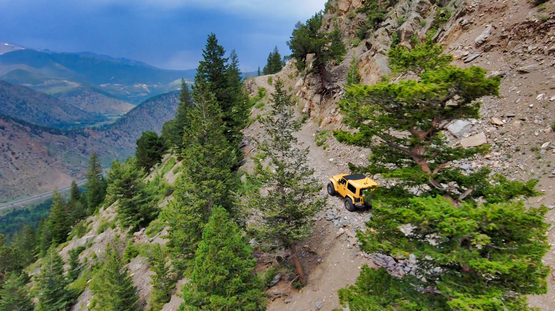 Highlight: Saxon Mountain Road